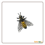 "Hidden Kingdom Insects:  Honey Bee Figure 2.5"" by Safari Ltd"