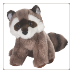 "Ranger Raccoon 8"" by Douglas"