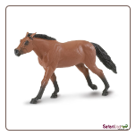 "Winner's Circle Thoroughbred Stallion Figure 7"" by Safari Ltd"