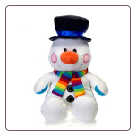 "Sitting Snowman 12"" by Fiesta"