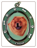 Chow Spinning Dog Key Chain by E and S Imports