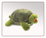 "Turtle Hand Puppet 13"" by Folkmanis"